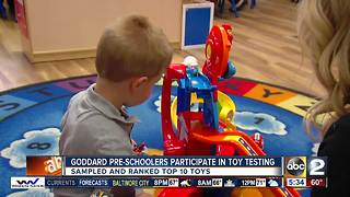 Local Preschoolers participate in nationwide toy test - Video