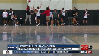 Foothill focused on fun during playoffs