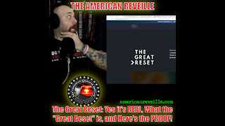 "The Great Reset: Yes it's REAL, What the ""Great Reset"" is, and Here's the PROOF!"