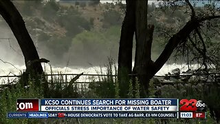 KCSO continues search for missing boater