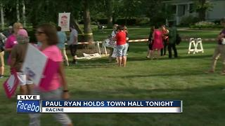 House Speaker Paul Ryan holds town hall Tuesday night - Video