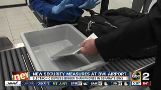 New security measures at BWI aiport - Video