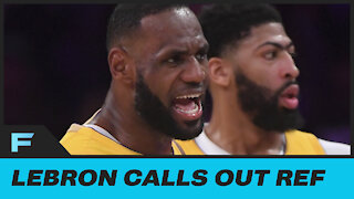 Lebron James Goes OFF On Refs for BAD Call During Game Two
