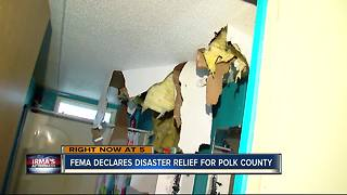 FEMA declares disaster relief for Polk County - Video