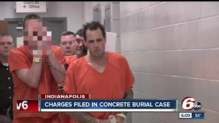 Man charged with murder, abuse of a corpse in connection with body found buried in concrete