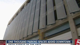 5th Avenue Parking Garage Opens In Nashville - Video