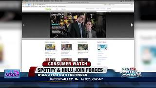 Spotify and Hulu bundle subscriptions - Video