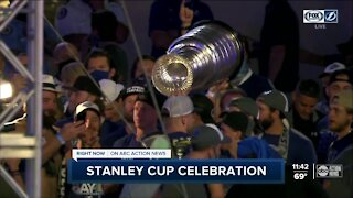 Tampa Bay celebrates Lightning's Stanley Cup run