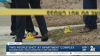 Two people shot at Essex apartment complex