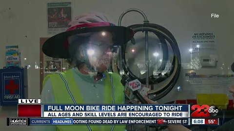 Bike Bakersfield Full Moon Ride