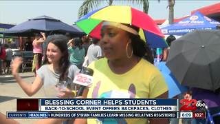 BLESSINGS CORNER HELPS STUDENTS - Video