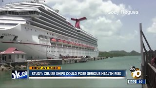 Study: Cruise ships could pose serious health risk