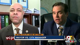 A war of words: mayor vs. city manager - Video