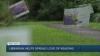 Librarian spreads love of reading