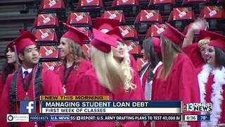 Managing student loan debt