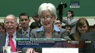 HHS Secretary Sebelius Apologizes For Healthcare.gov Debacle - Video