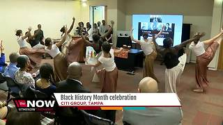 Citi Group: Tampa campus celebrates Black History Month with program - Video