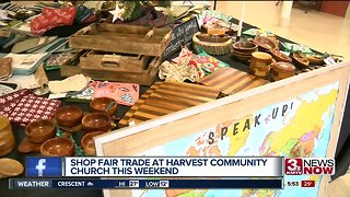 Shop Fair Trade at Harvest Community Church this weekend