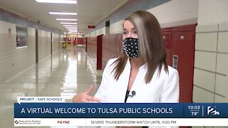 Virtual welcome for TPS students