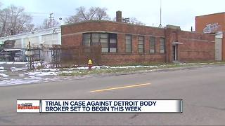 Metro Detroit cadaver dealer set for trial 4 years after gruesome discovery - Video