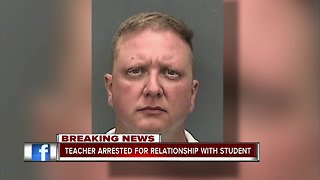 Hillsborough Co. middle school teacher arrested for establishing romantic relationship with student