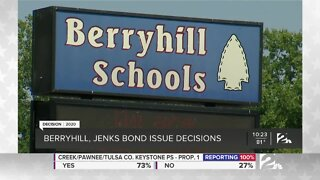 Berryhill, Jenks voters decide on bonds