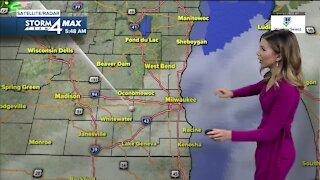 Dense fog Sunday morning with some drizzle on the way