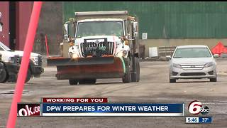 Navigating roads safely with Indianapolis salt trucks - Video