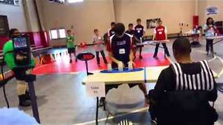 Guy Breaks Cup Stacking Record in Crazy Quick Time