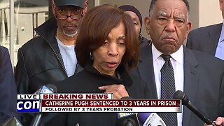 Catherine Pugh sentenced to 3-years in Federal Prison