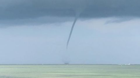 Waterspout Sighted off Florida Keys