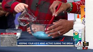 Keeping your kids' minds active during winter break - Video