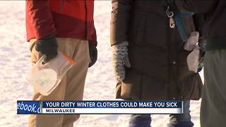 Your dirty winter clothes could make you sick - Video