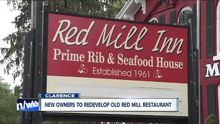 Owners of Bar Bill to redevelop Old Red Mill - Video
