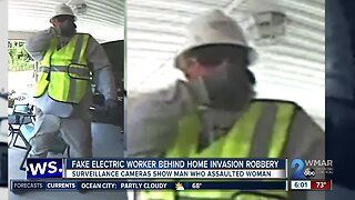 Fake electric worker behind home invasion robbery