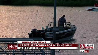 Water rescue at Lake Cunningham - Video