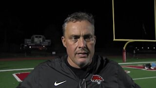 Coweta football post game interview