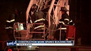 Fire damages historic Milwaukee building set to help the needy