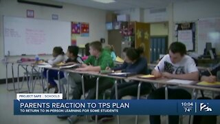 Parents react to TPS plan to return to in-person learning