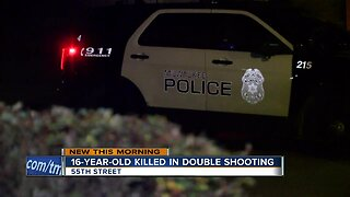 16-year-old dies after shots fired into vehicle