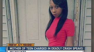 Mother of teen charged in deadly crash speaks out - Video