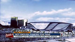 Raiders struggling to put parking spots on board - Video