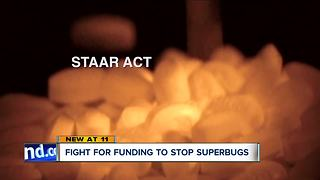 Sen. Brown introduces bill to combat the spread of antibiotic-resistant superbugs - Video