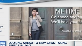 New laws for 2017 - Video