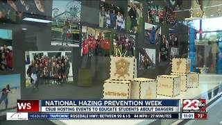 National Hazing Prevention Week at CSUB - Video