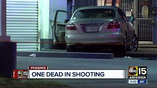 Deadly shooting at west Phoenix 7-Eleven