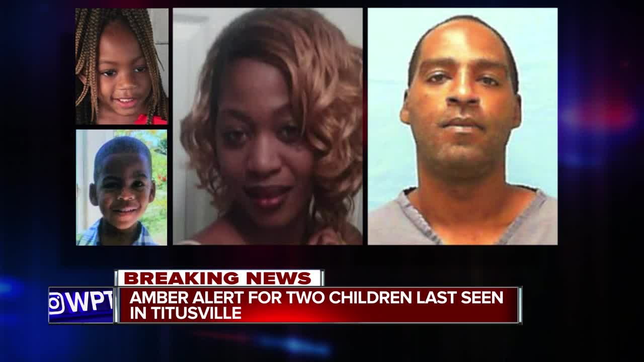 Florida Amber Alert issued for two missing children from Titusville