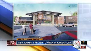 Kansas City to break ground on new animal shelter Tuesday - Video