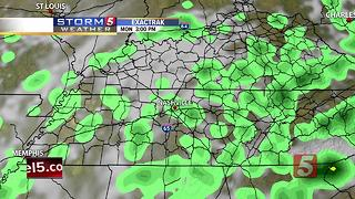 Kelly's Afternoon Forecast: Monday, June 12, 2017