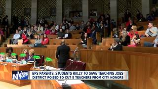 Judge blocks transfer of teachers from City Honors, Students speak out - Video